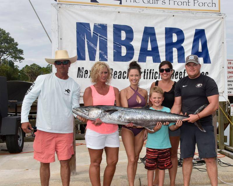 1st Place Recreational Kingfish