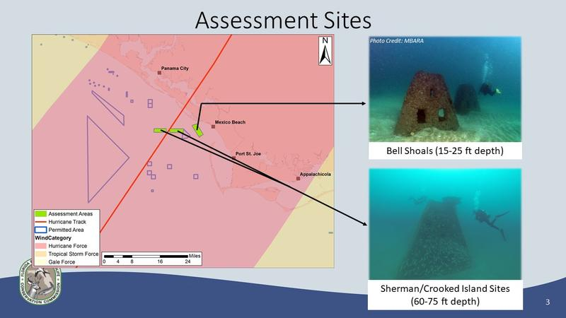 Hurricane Michael Artificial Reef Assessments